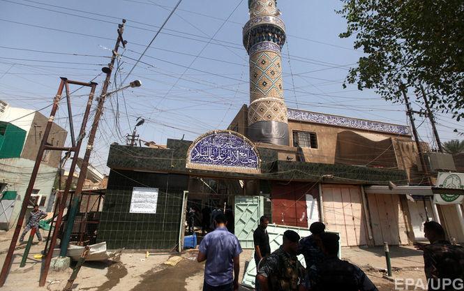 Теракт в мечети. В пригороде Багдада подорвался смертник, 12 человек погибли