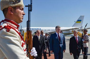 Порошенко прибыл в Болгарию