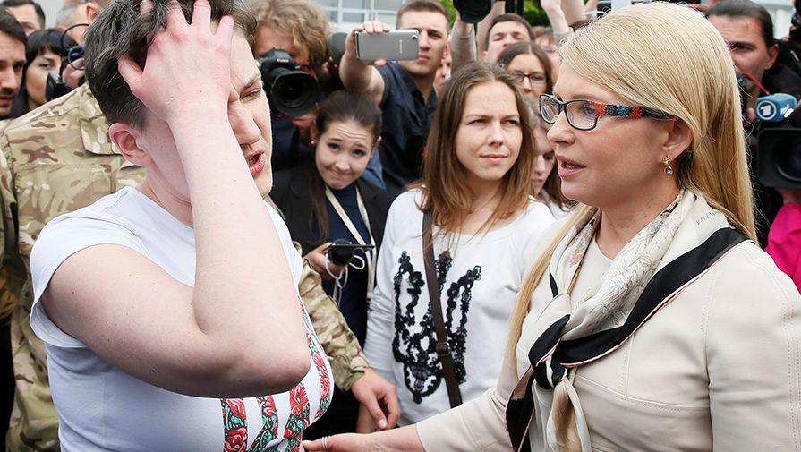 Тимошенко против инициативы Савченко о прямых переговорах с «ДНР/ЛНР»