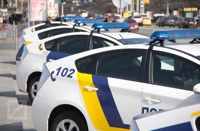 В Ровно поймали пьяного полковника полиции