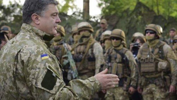Порошенко назначил нового заместителем командующего Нацгвардии