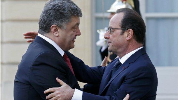 Порошенко едет к Олланду: о чем будут говорить президенты