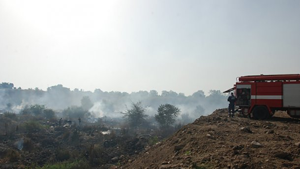 Стало известно, какова текущая ситуация с пожаром на свалке в Николаеве
