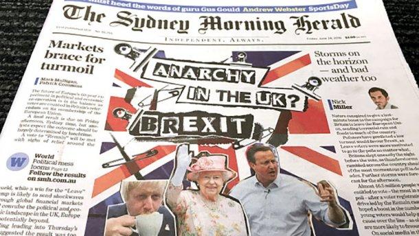 Великобритания выходит из Евросоюза: официальные результаты референдума