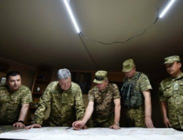 Порошенко рассказал, кто заменит демобилизованных на передовой (ВИДЕО)