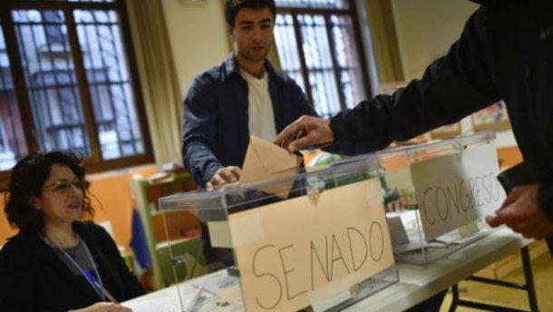 В Испании состоялись внеочередные выборы в парламент