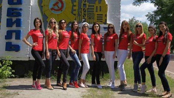 Участницы «Мисс Украина Вселенная» устроили фотосессию в Чернобыле (ФОТО)