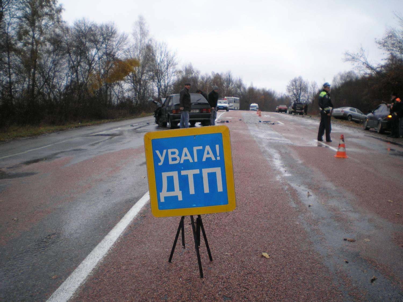 В ДТП во Львовской области пострадали 7 человек