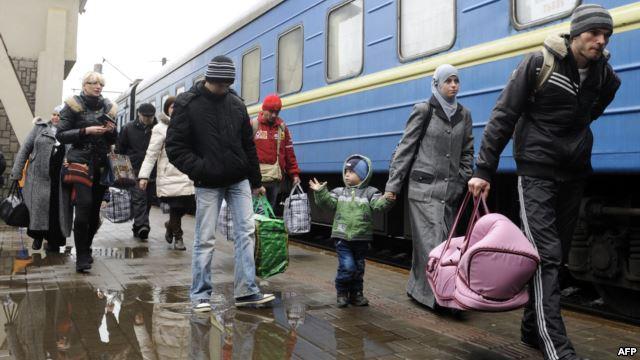 В Дрогобыче не желают принимать мужчин с Востока