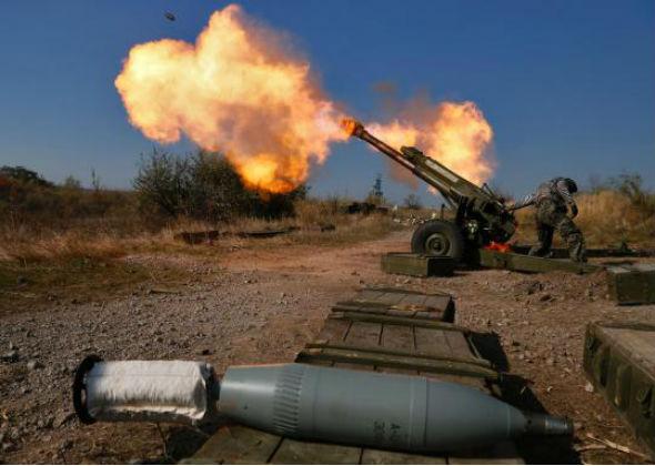 Ситуация в зоне АТО: Донбасс сотрясают залпы САУ и зенитных установок