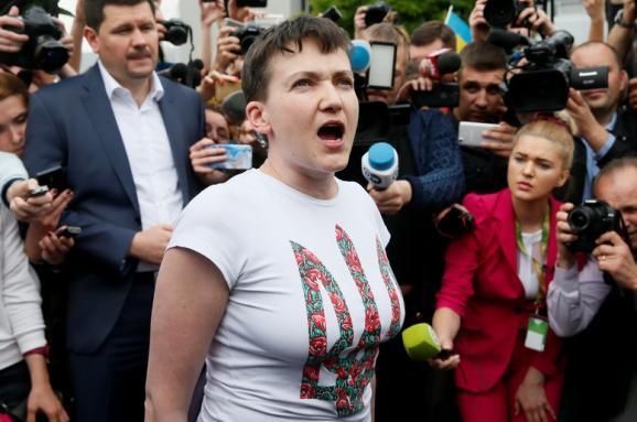Надежда Савченко уверена, что Украине не нужен президент