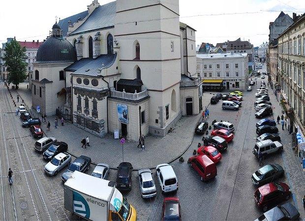 Въезд в центр Львова будет платным