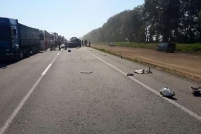 Жуткая авария на Полтавщине унесла жизни двух человек (ФОТО)