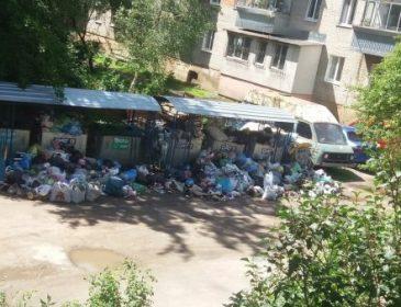 Львов утопает в мусоре (ФОТО)