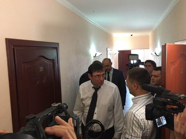 Прокурор, который возмутил Луценко дорогой машиной, бежал в отпуск отпуск