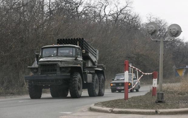 Боевики держат танки и «Грады» в районе Макеевки и Донецка – разведка