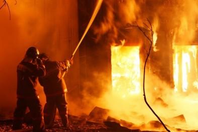 На Львовщине во время пожара заживо сгорели супруги