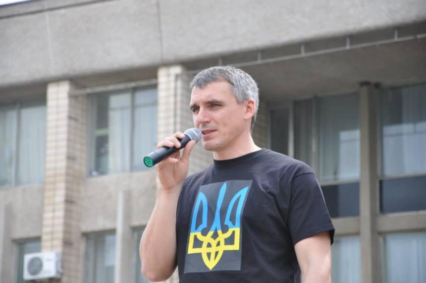 Мэр Николаева Сенкевич пришел пьяным на встречу с горожанами
