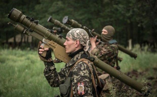 За минувшие сутки боевики 41 раз обстреляли силы АТО, — пресс-центр