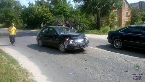 «Угашеный» водитель во время бегства сбил полицейского и совершил еще одну аварию (ФОТО)