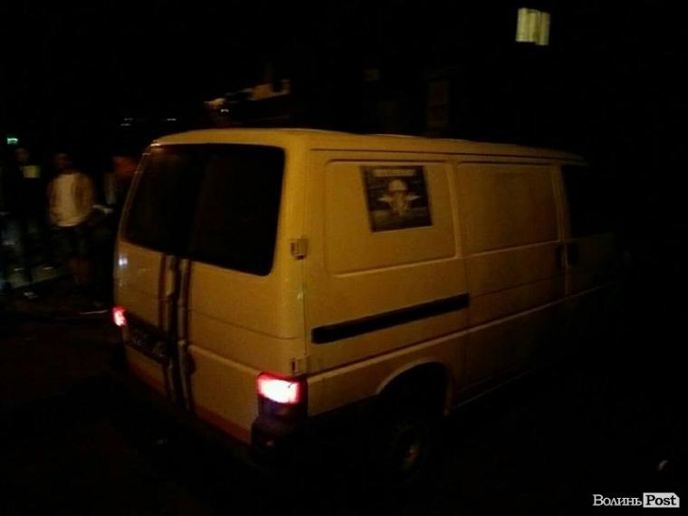 На Волыни ветеран АТО сбил пешехода (ФОТО)