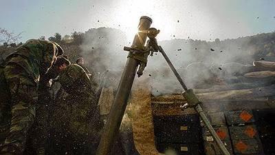 С начала суток боевики 13 раз обстреливали позиции ВСУ в зоне АТО, — штаб