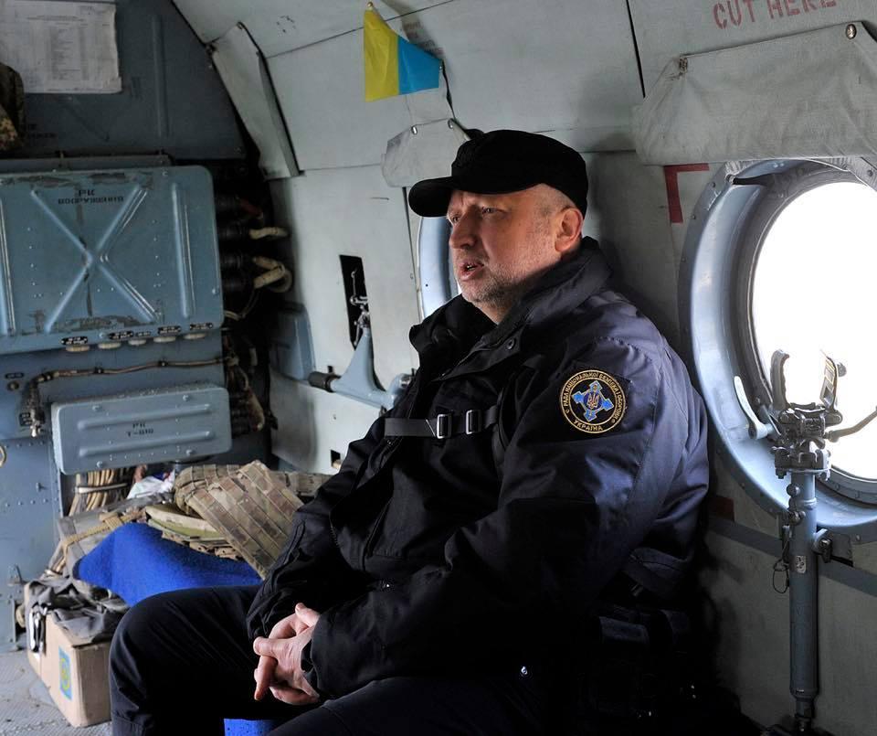 Турчинов прибыл в зону АТО в связи с обострением ситуации