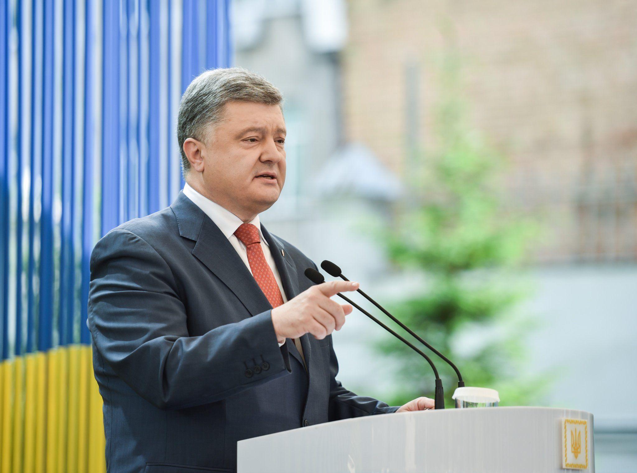 Порошенко убежден в развитии взаимовыгодного украино-египетского сотрудничества