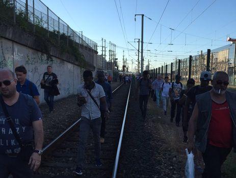 Пожар на вокзале в Париже: Эвакуировано 15 тыс. человек