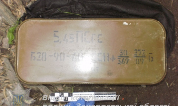 В Ужгороде на мусорнике обнаружили более тысячи патронов и гранату