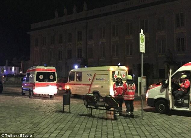 Взрыв в Германии: 27-летний сириец-смертник подорвался около ресторана