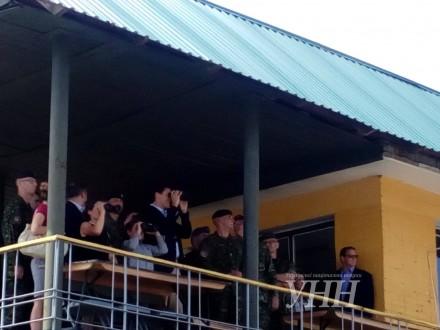 Премьер-министр Канады посетил Яворовский полигон