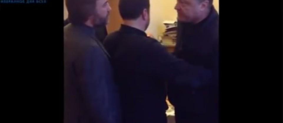 В сети вспомнили жесткую брань Порошенко и Новинского (Видео 18+)