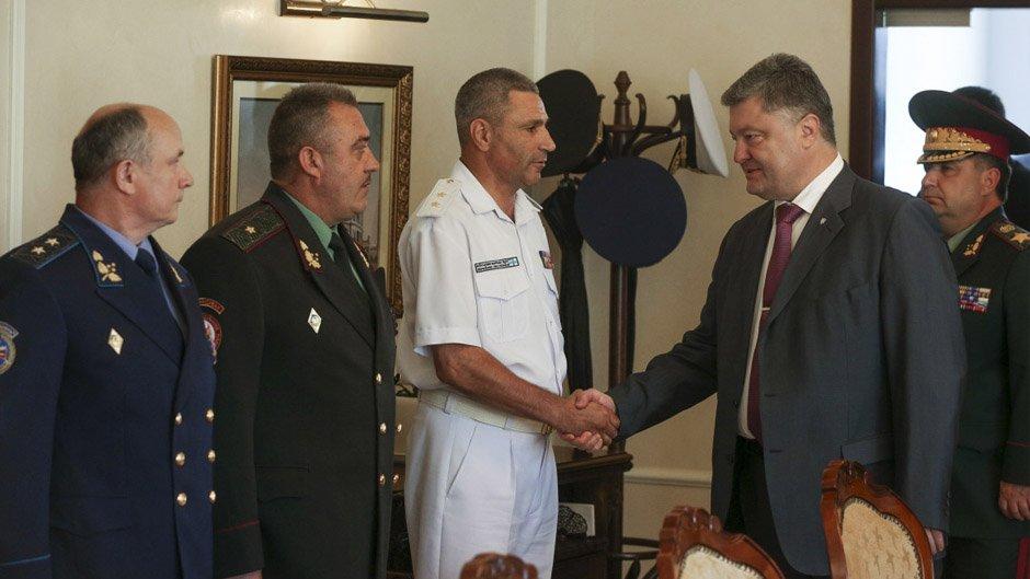 Порошенко назначил нового командующего ВМС Украины