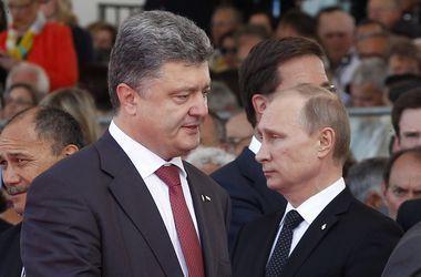 Порошенко рассказал, о чем разговаривает с Путиным