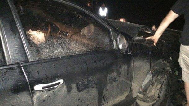 Нардеп от БПП попал в аварию (ФОТО)