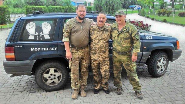 Украинского военного освободили из плена террористов