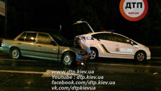 ДТП с участием патрульных: есть пострадавшие