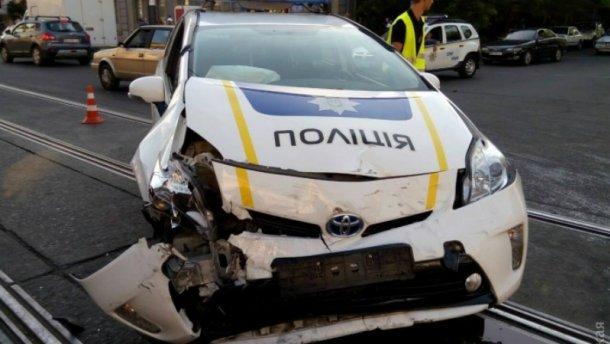 ДТП в Одессе с участием полиции
