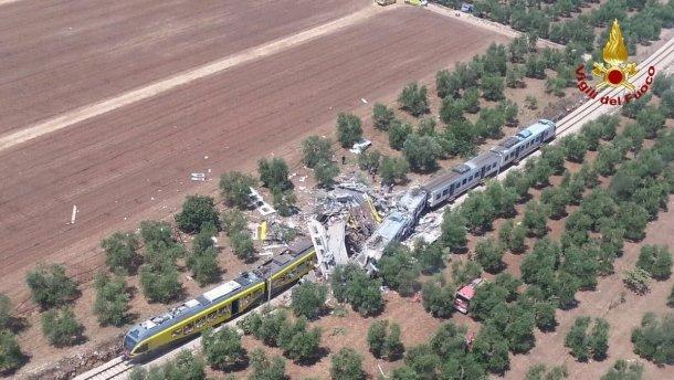 МИД выясняет, пострадали ли украинцы в железнодорожной аварии в Италии