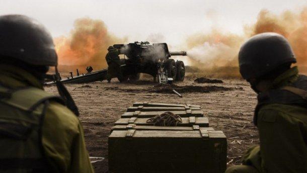 Боевики снова обстреляли украинских военных из запрещенного вооружения