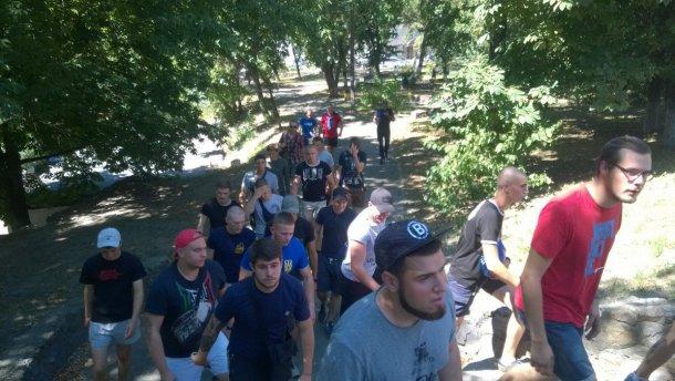 «Азов» сорвал выступление лидера украинских коммунистов