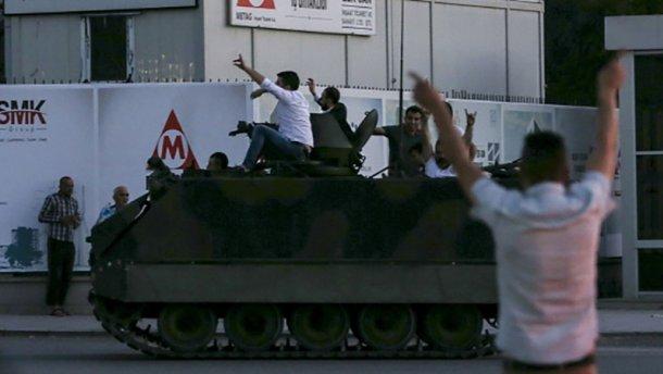 Переворот в Турции: Генерала-ополченца ликвидировали