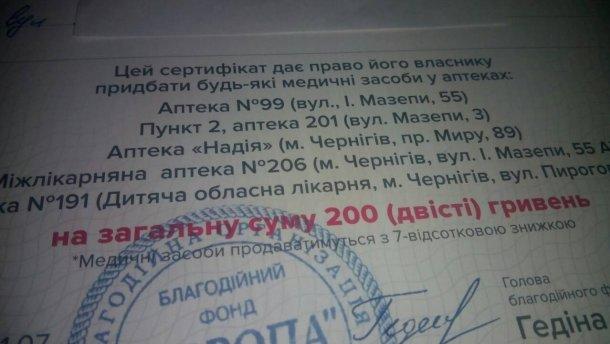 Избирателей в Чернигове подкупают лекарствами