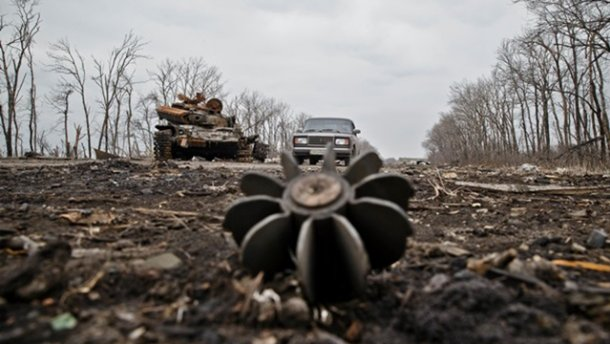 По Авдеевке, Зайцево и Майорску стреляли из 120 мм минометов, — штаб АТО