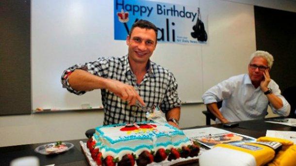 Кличко рассказал, как отпразднует свой день рождения