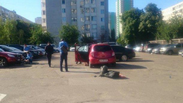 Граната взорвалась на автостоянке в Киеве