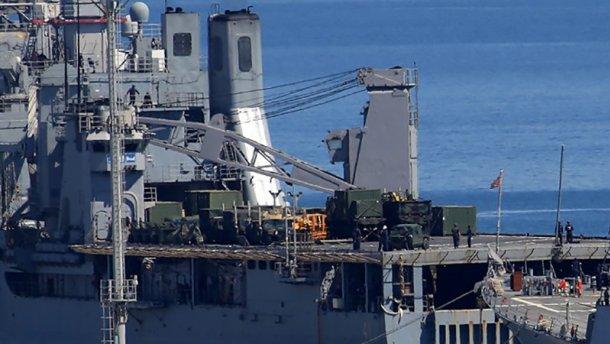 В Одессу зашли корабли ВМС США