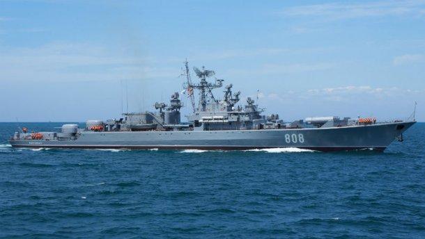 Российские сторожевые корабли заметили в водах вблизи Одессы