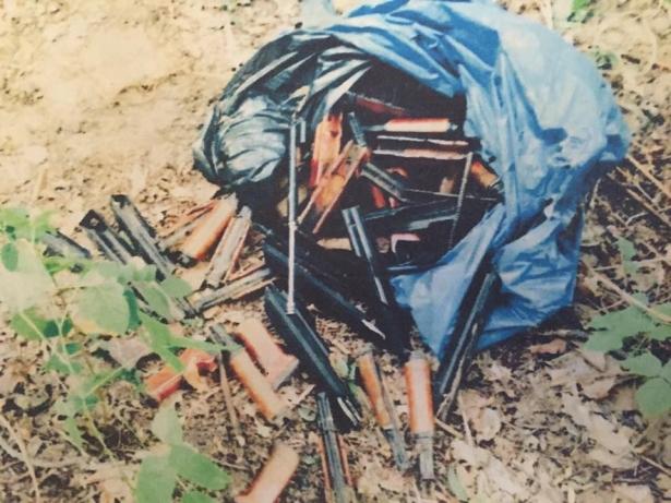 В киевском пруду нашли оружие, которым расстреливали Майдан